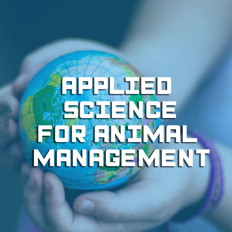 Applied science for animal management illustration